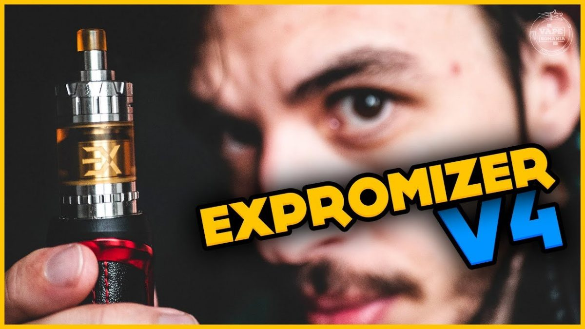 EXPROMIZER V4 RTA by EXVAPE – cel mai bun MTL RTA top-airflow 2019